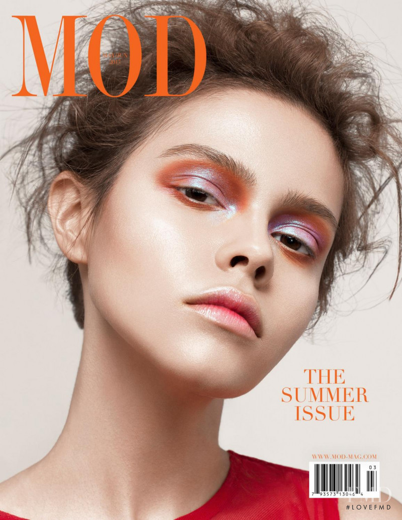 Alicia Bettoni featured on the MOD cover from May 2017