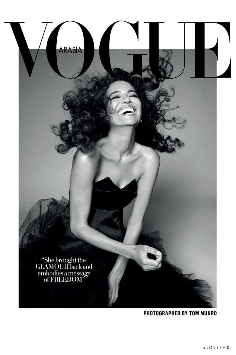 featured on the Vogue Arabia cover from October 2017