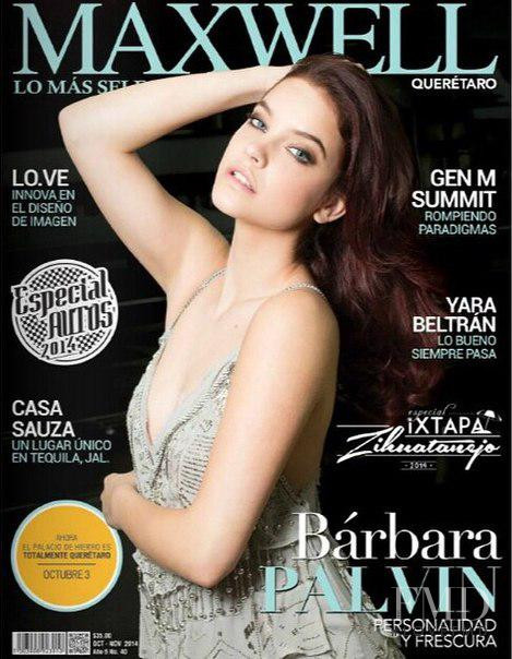 Barbara Palvin featured on the Maxwell cover from October 2014