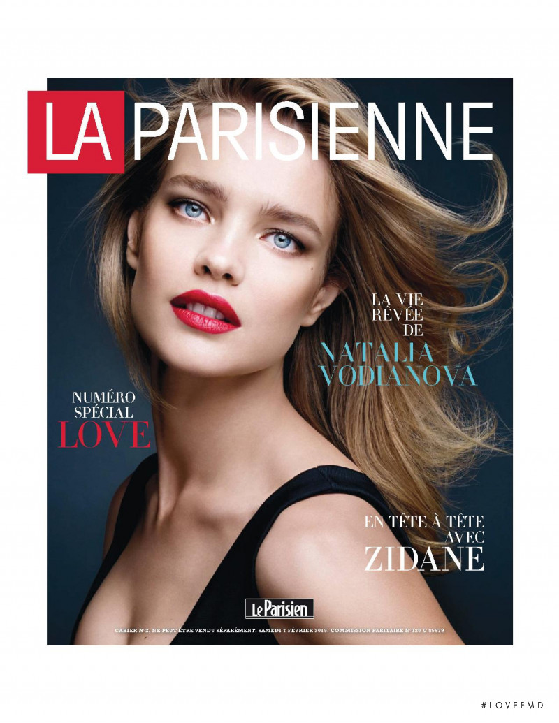 Natalia Vodianova featured on the La Parisienne cover from February 2015