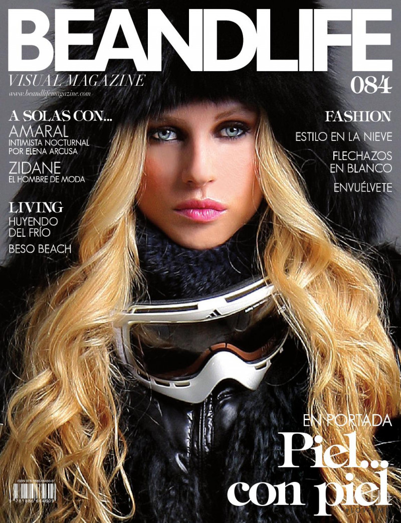 Maria Poddunaya featured on the BeAndLife cover from March 2016