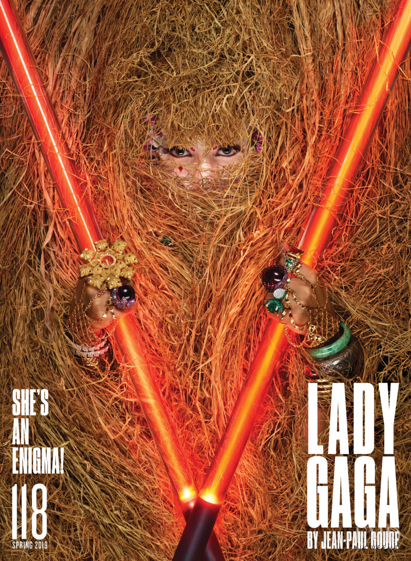 Lady Gaga featured on the V Magazine cover from March 2019