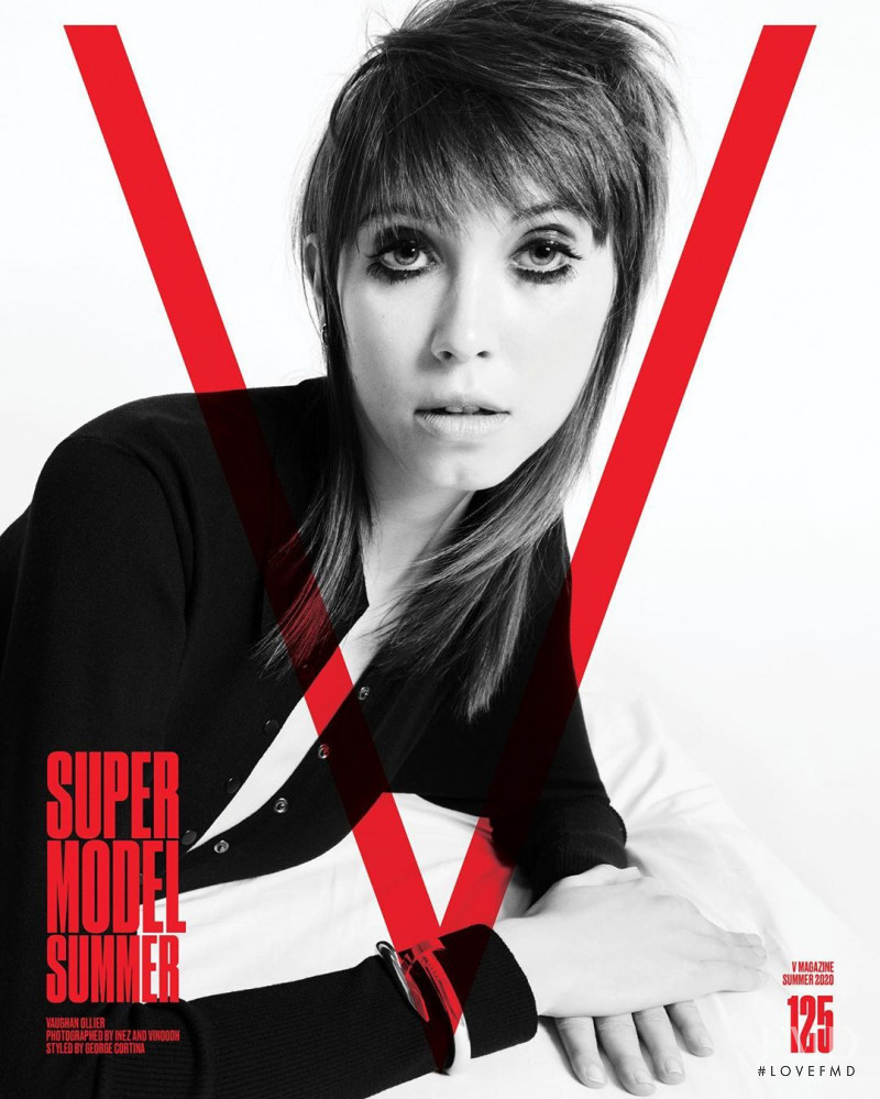 Vaughan Ollier featured on the V Magazine cover from May 2020