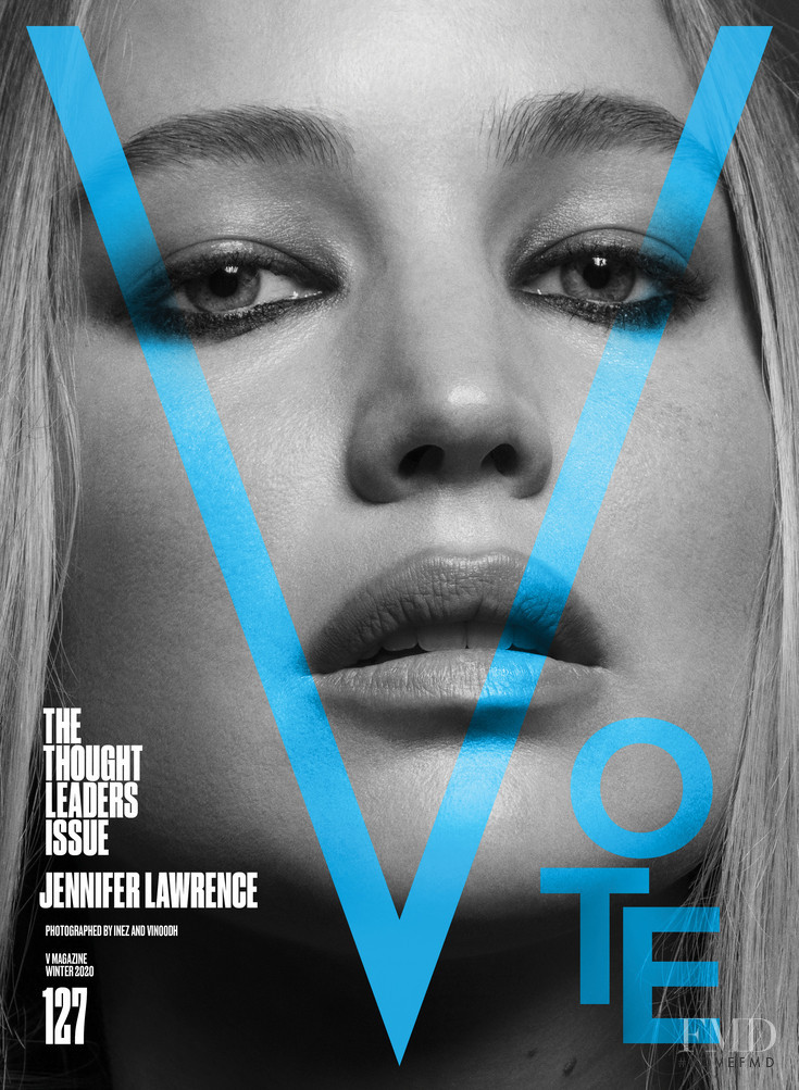 featured on the V Magazine cover from November 2020