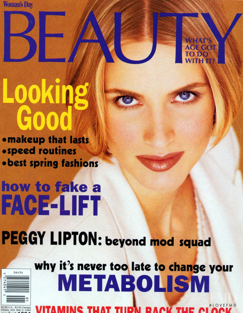 Cathy Fedoruk featured on the Woman\'s Day Beauty cover from May 1994