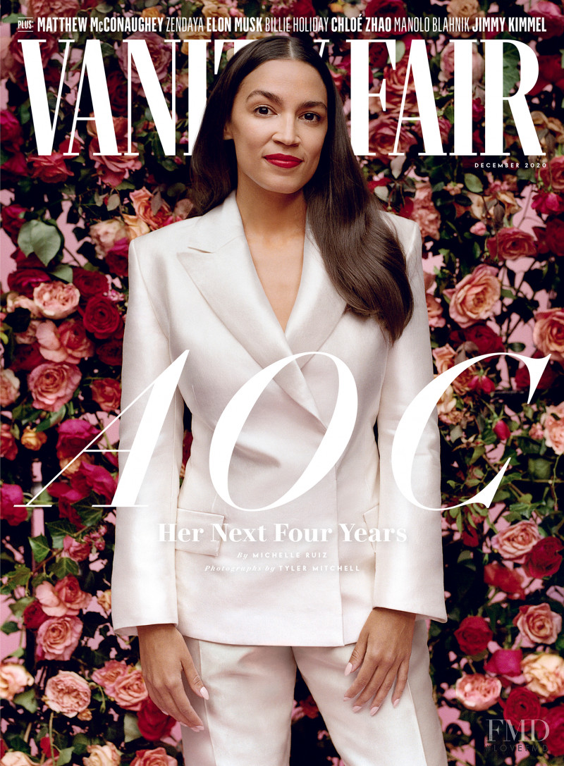featured on the Vanity Fair USA cover from December 2020