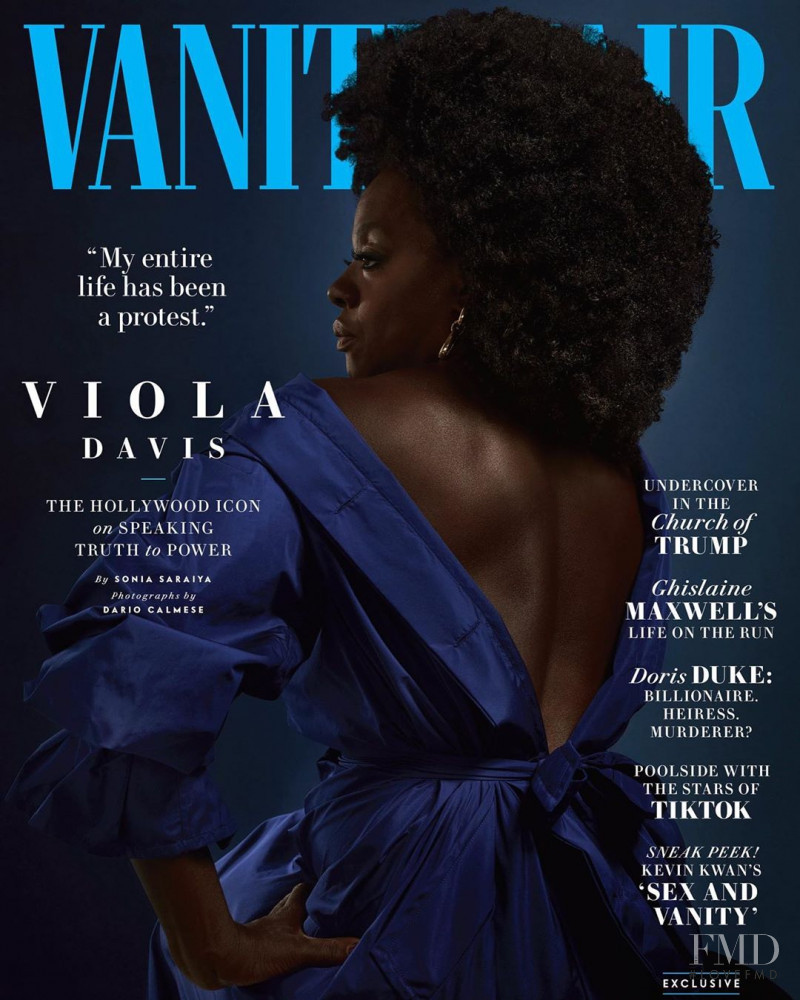 Viola Davis featured on the Vanity Fair USA cover from July 2020