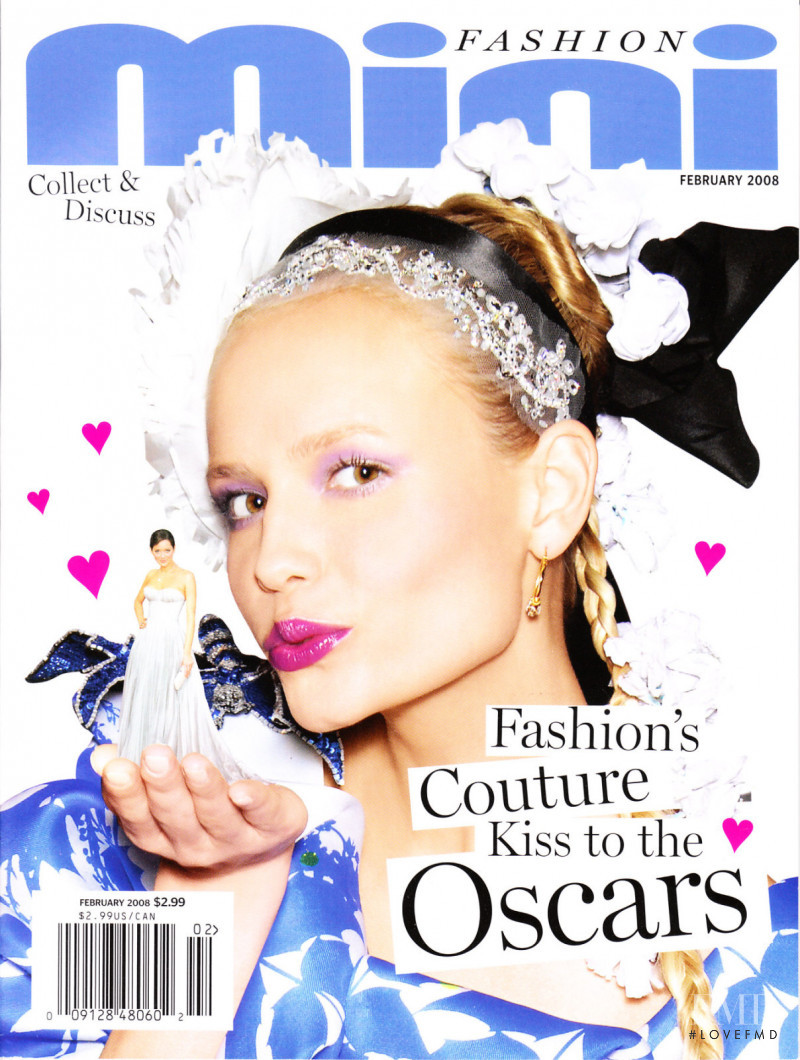 Natasha Poly featured on the The Daily Mini cover from February 2008