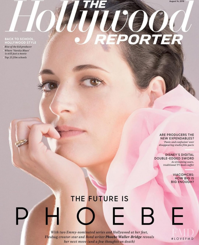 featured on the The Hollywood Reporter cover from August 2019