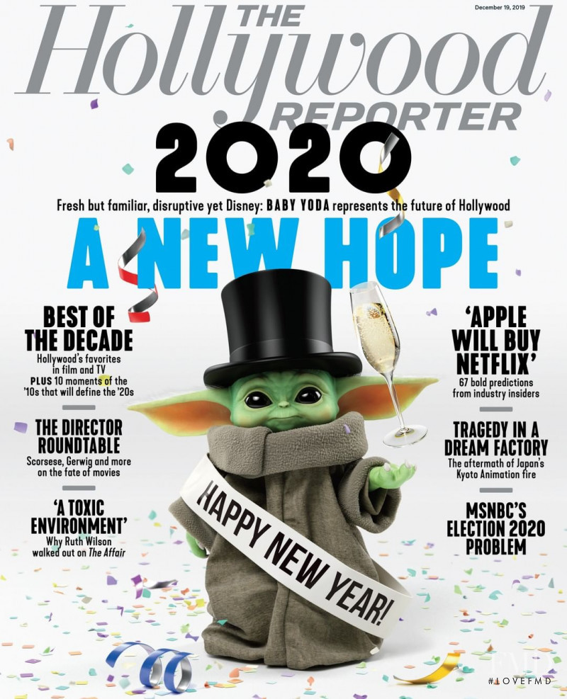featured on the The Hollywood Reporter cover from December 2019