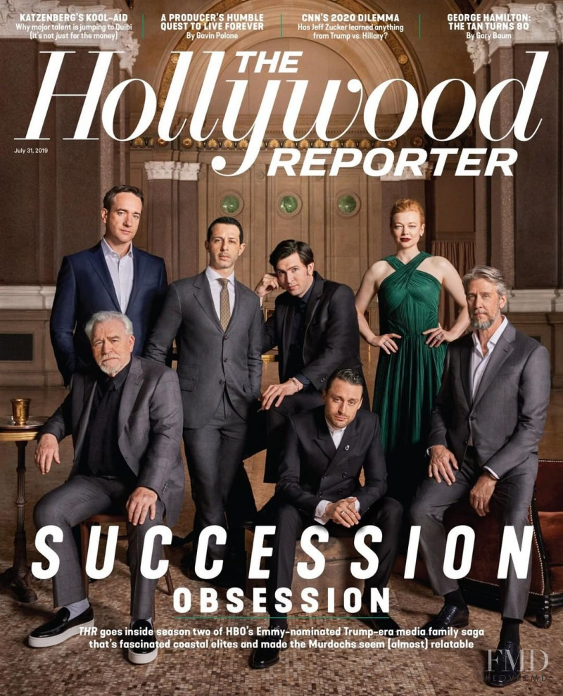featured on the The Hollywood Reporter cover from July 2019