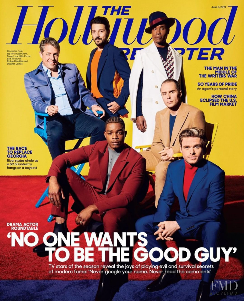 featured on the The Hollywood Reporter cover from June 2019