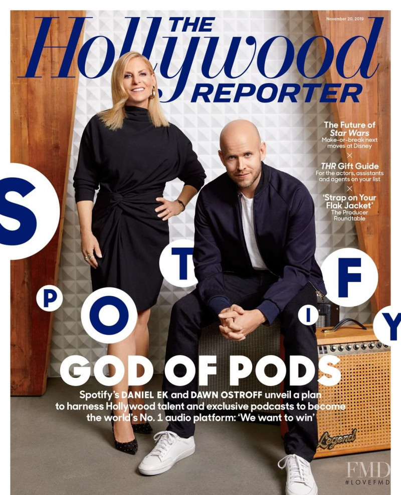 featured on the The Hollywood Reporter cover from November 2019