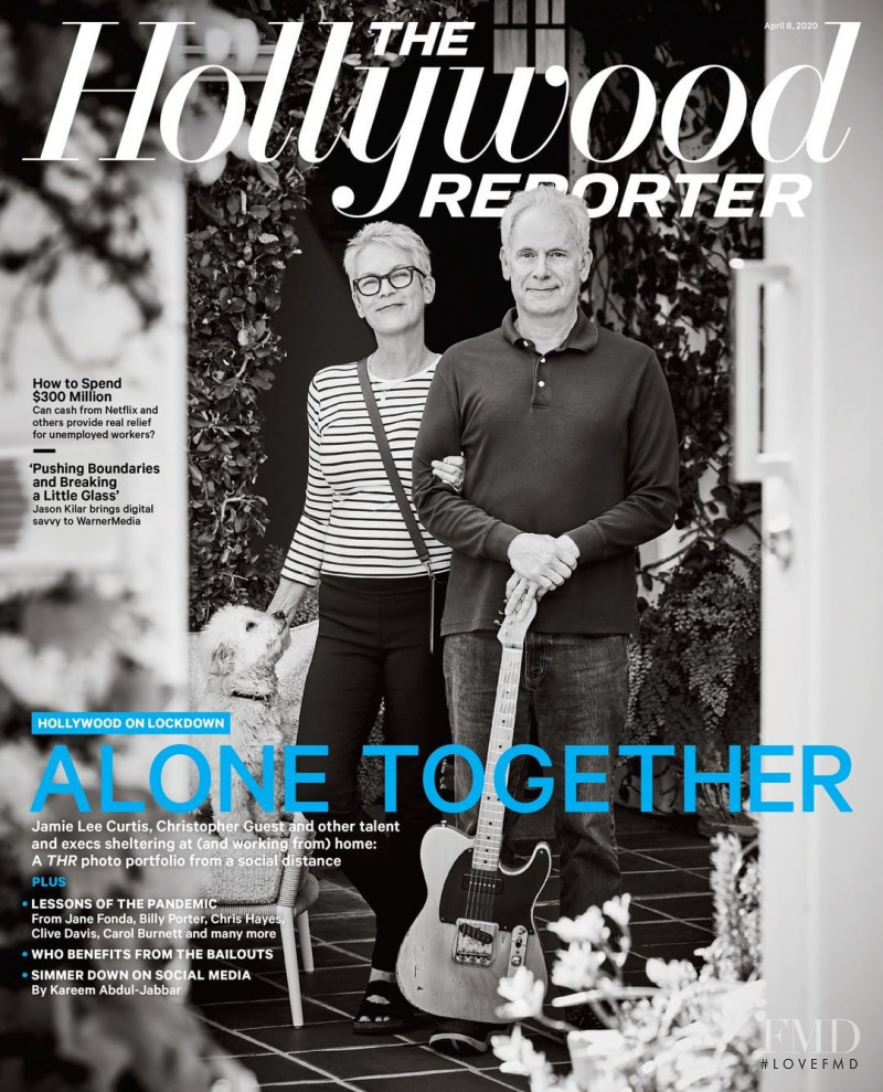 Jamie Lee Curtis, Christopher Guest featured on the The Hollywood Reporter cover from April 2020