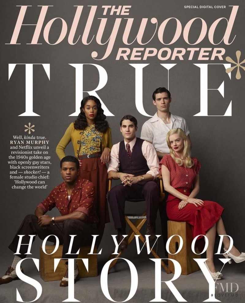 featured on the The Hollywood Reporter cover from April 2020
