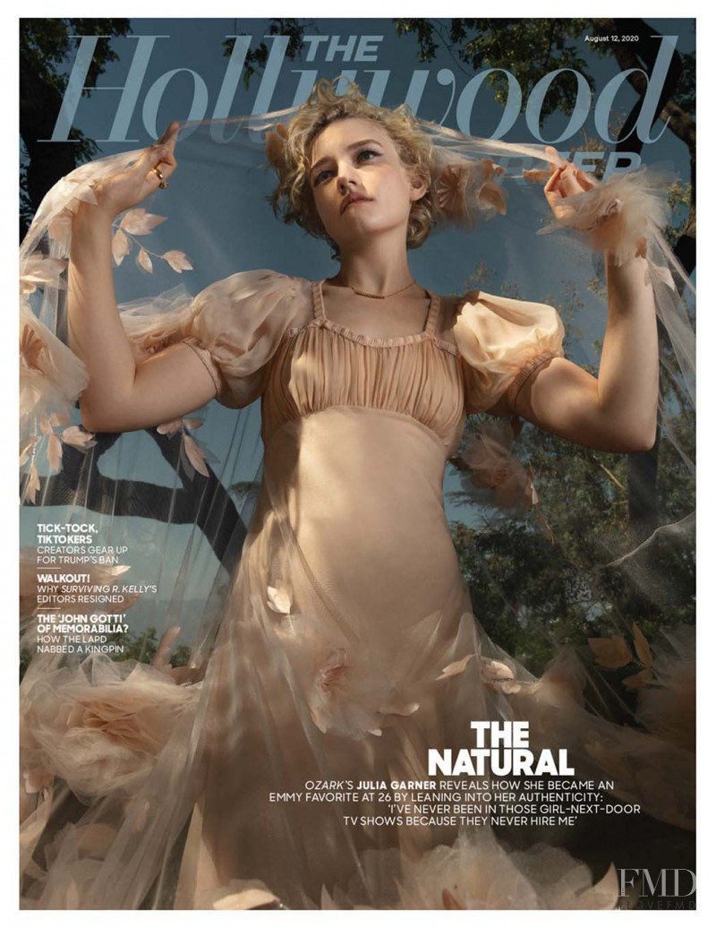 Julia Garner featured on the The Hollywood Reporter cover from August 2020