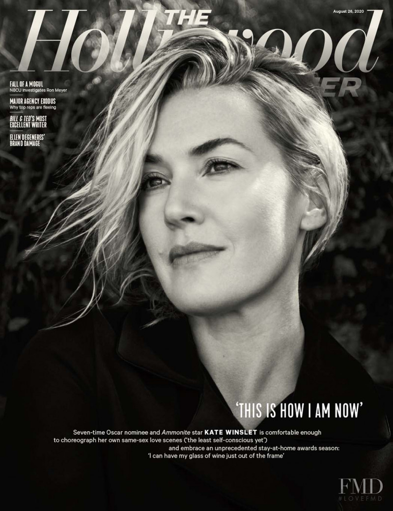 Kate Winslet featured on the The Hollywood Reporter cover from August 2020