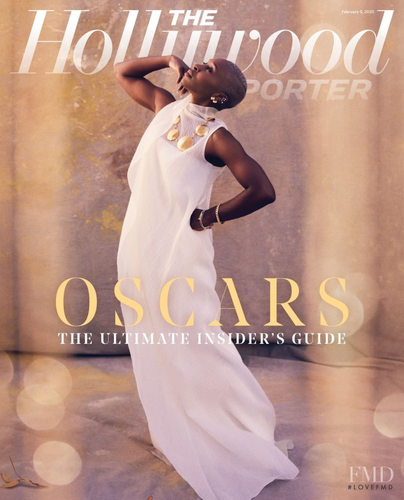 Cynthia Erivo featured on the The Hollywood Reporter cover from February 2020