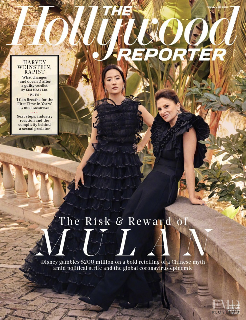 featured on the The Hollywood Reporter cover from February 2020