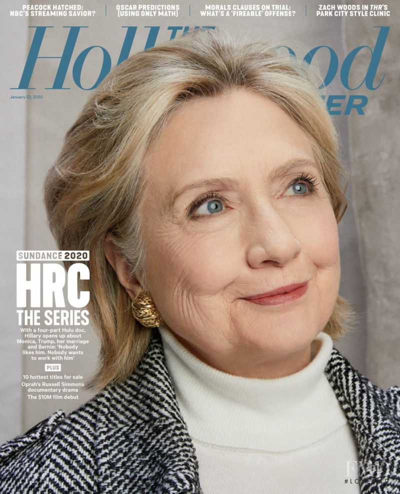 Hillary Clinton featured on the The Hollywood Reporter cover from January 2020