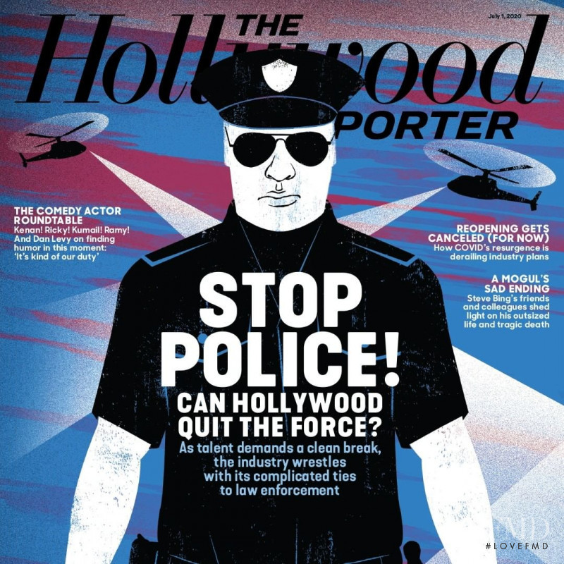 featured on the The Hollywood Reporter cover from July 2020