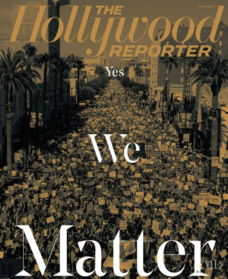 featured on the The Hollywood Reporter cover from June 2020