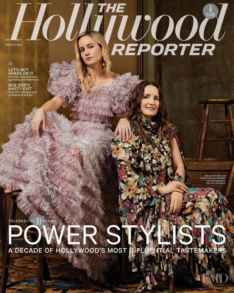 Brie Larson, Samantha McMillen featured on the The Hollywood Reporter cover from March 2020