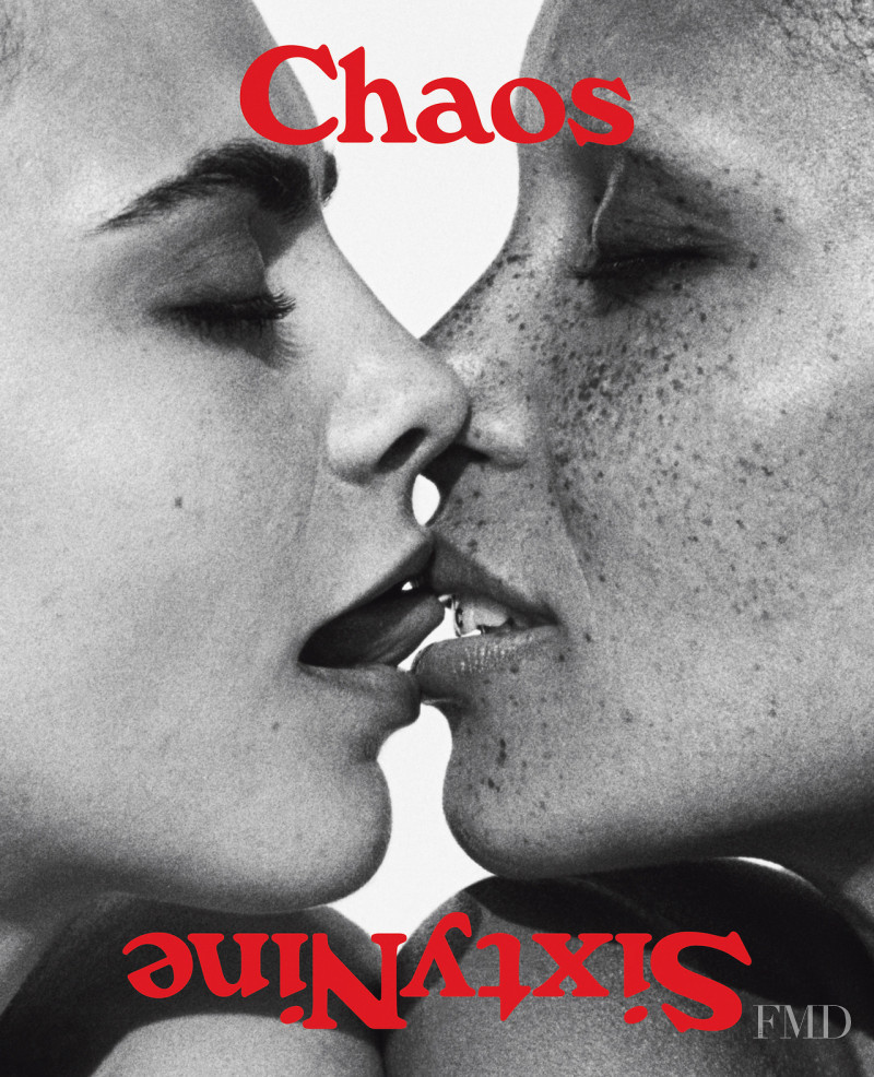 Cara Delevingne, Adwoa Aboah featured on the Chaos 69 cover from November 2017