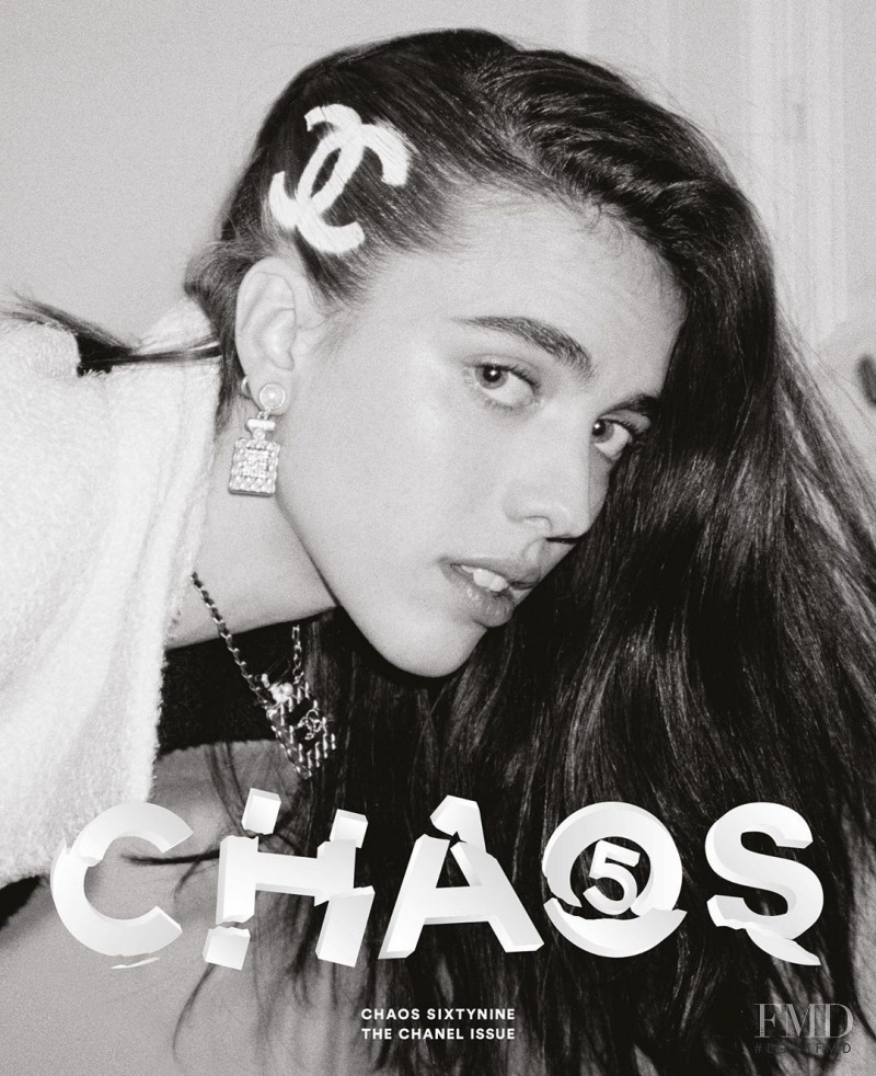 Margaret Qualley featured on the Chaos 69 cover from August 2020
