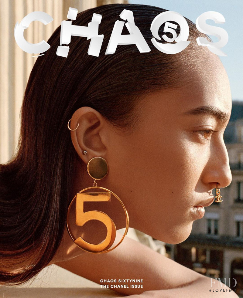 Mona Tougaard featured on the Chaos 69 cover from August 2020