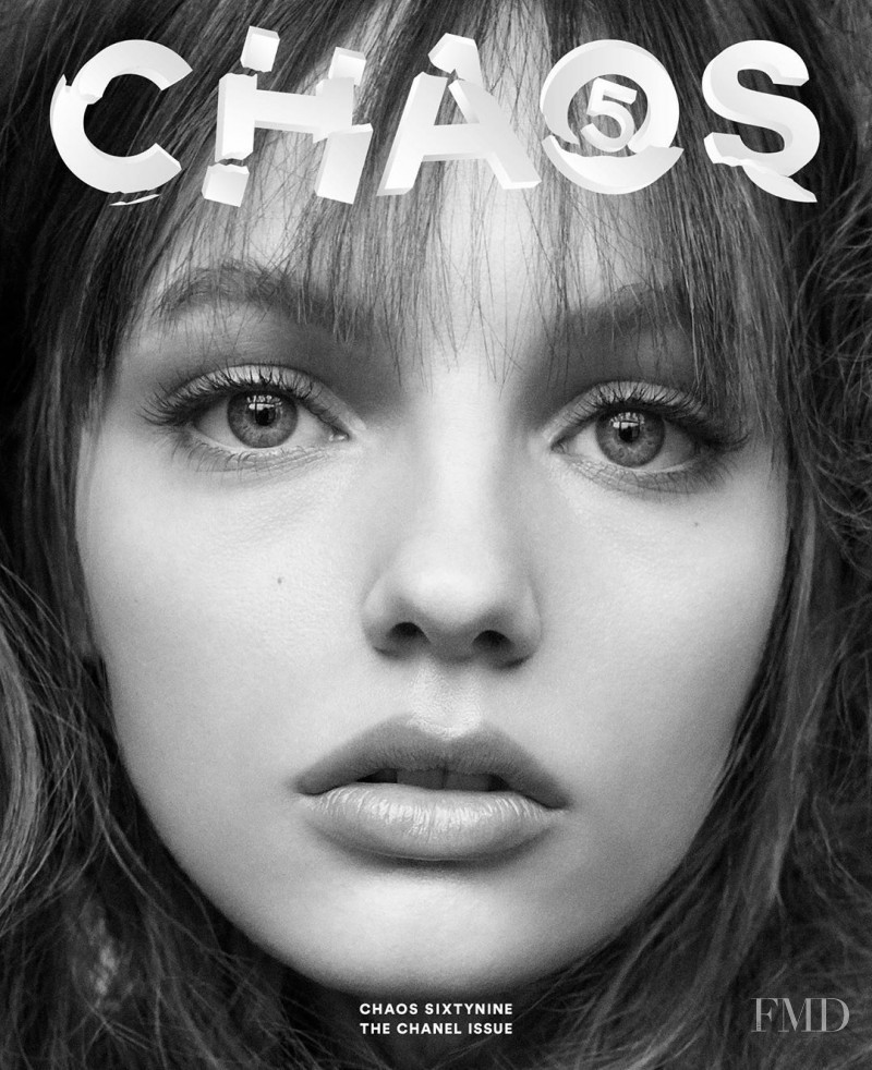 Fran Summers featured on the Chaos 69 cover from August 2020