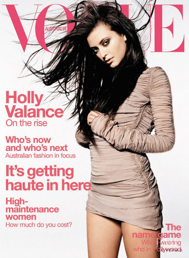 featured on the Vogue Australia cover from June 2003