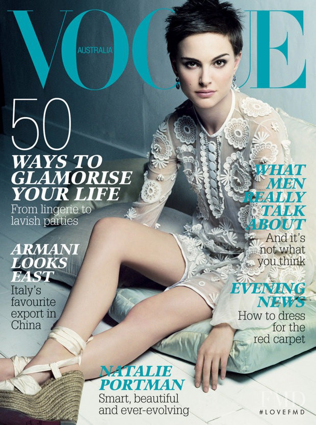 featured on the Vogue Australia cover from August 2006