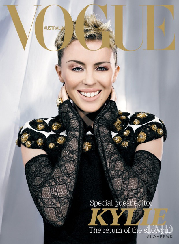 featured on the Vogue Australia cover from December 2006