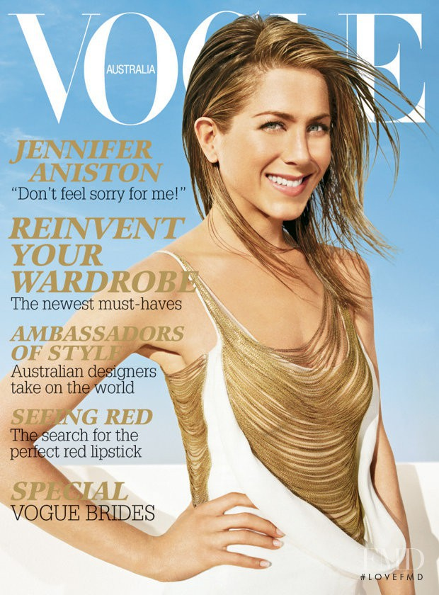 featured on the Vogue Australia cover from June 2006