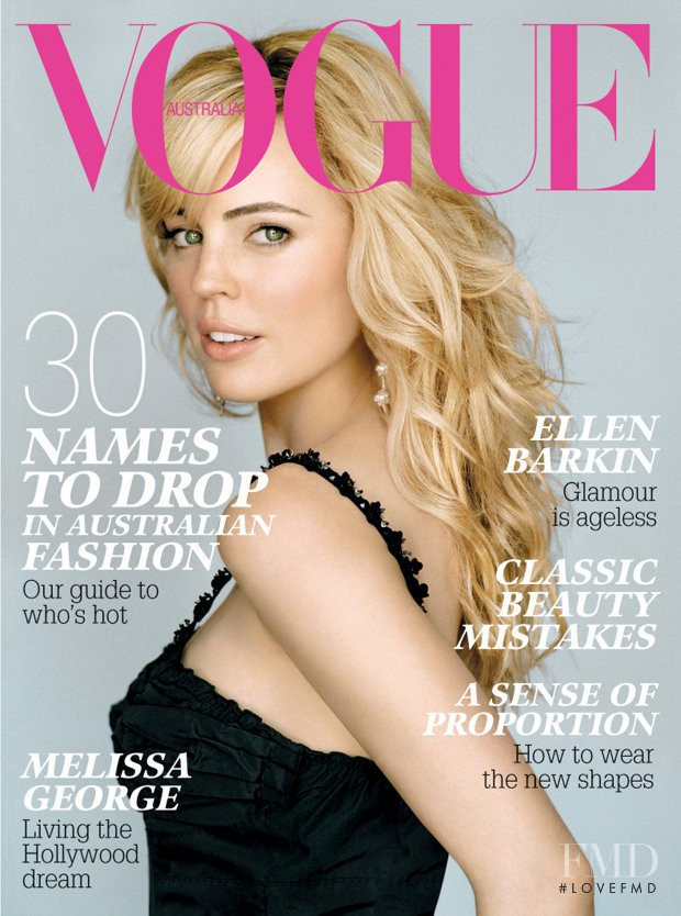 featured on the Vogue Australia cover from October 2006