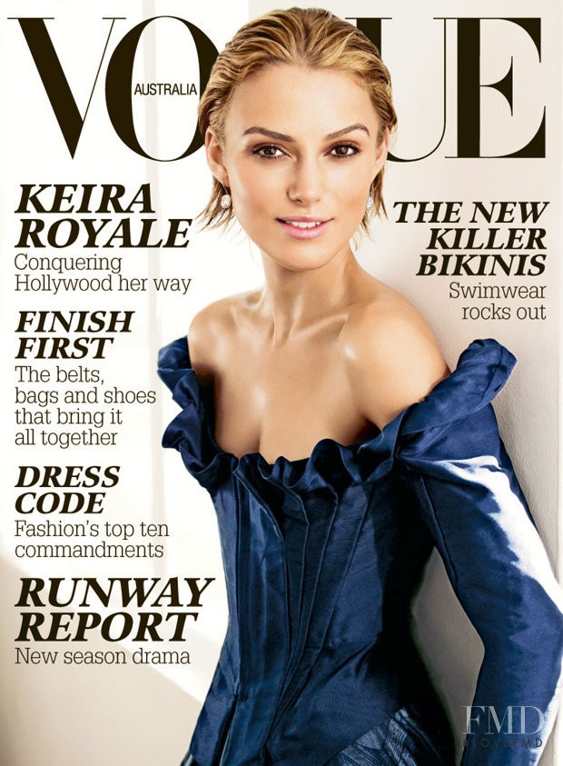 featured on the Vogue Australia cover from September 2006