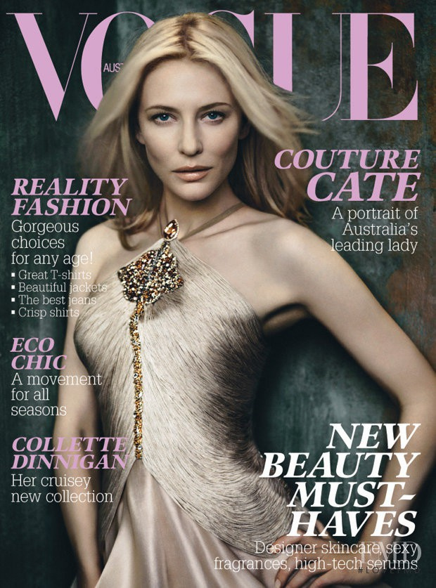 featured on the Vogue Australia cover from August 2007