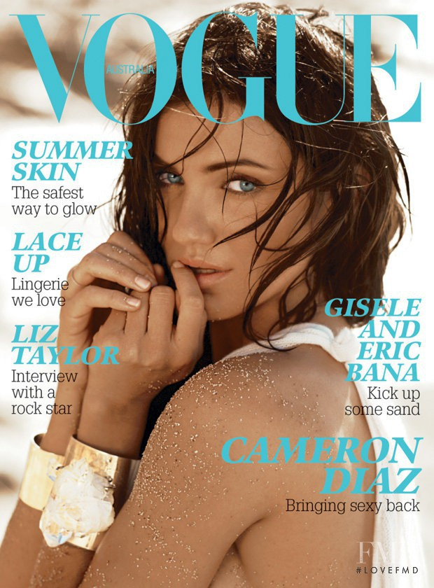 featured on the Vogue Australia cover from February 2007