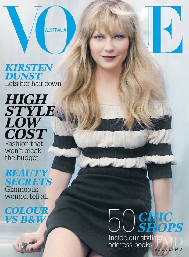 featured on the Vogue Australia cover from July 2007