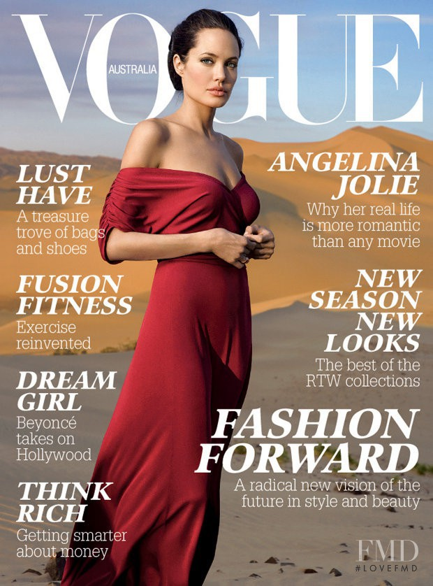 featured on the Vogue Australia cover from March 2007
