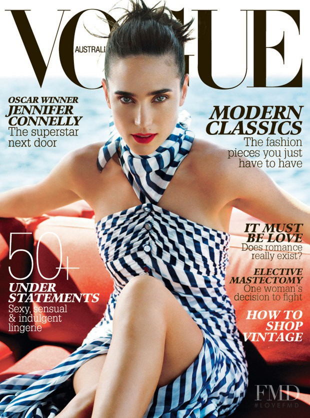 featured on the Vogue Australia cover from February 2008