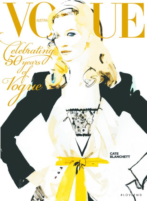 featured on the Vogue Australia cover from September 2009