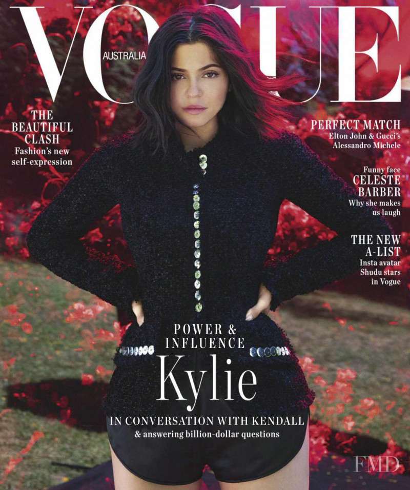 Kylie Jenner featured on the Vogue Australia cover from September 2018