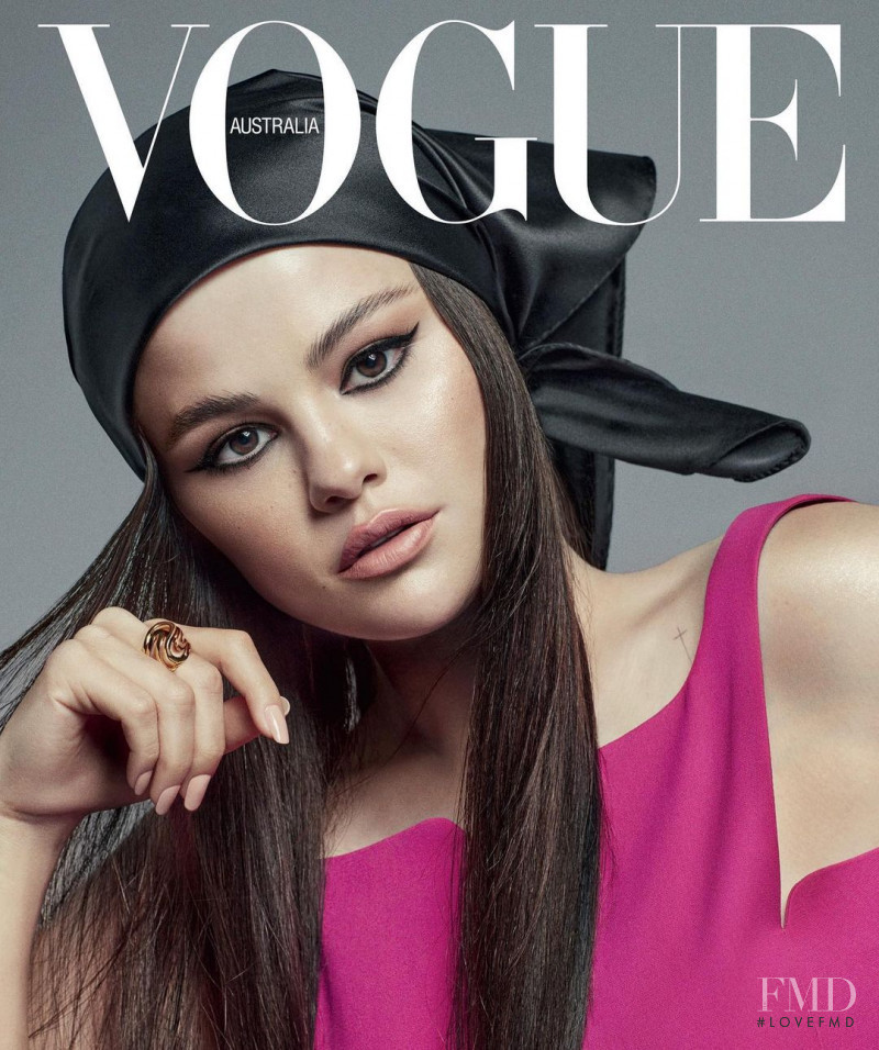 Selena Gomez featured on the Vogue Australia cover from July 2021