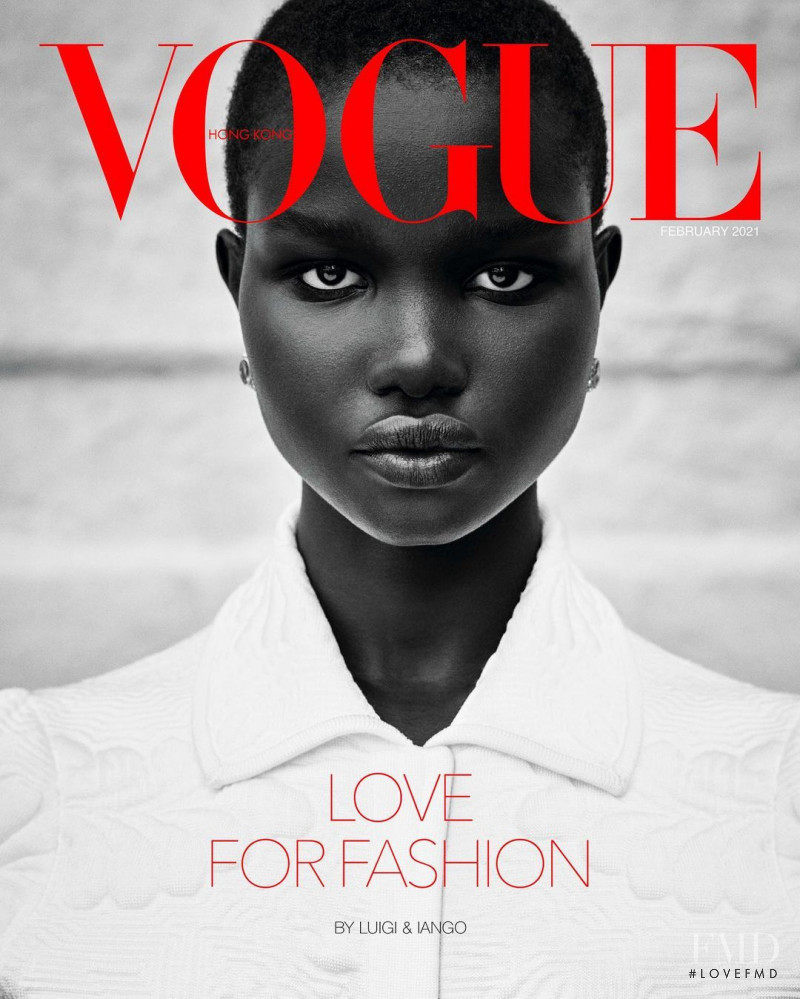 Akon Changkou featured on the Vogue Hong Kong cover from February 2021