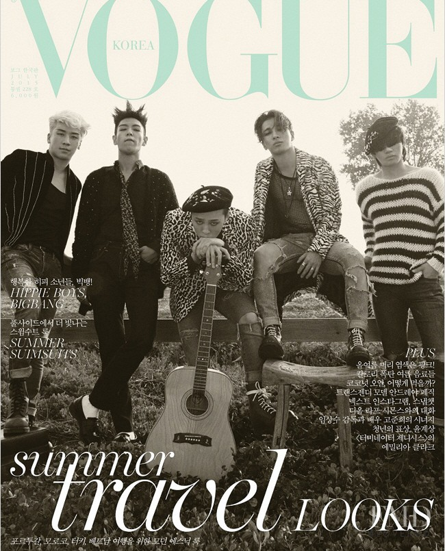 featured on the Vogue Korea cover from July 2015