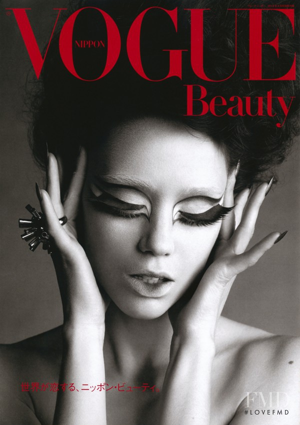 featured on the Vogue Japan cover from April 2010