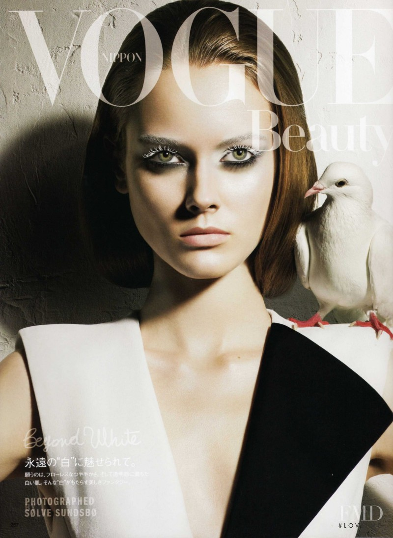featured on the Vogue Japan cover from May 2010