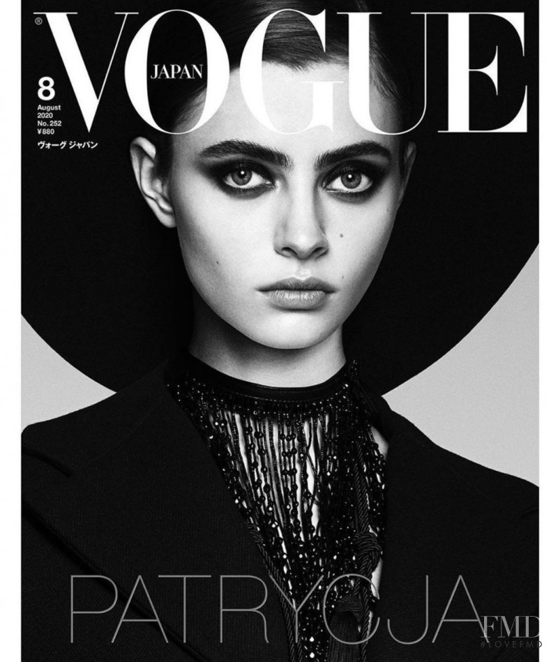 Patrycja Piekarska featured on the Vogue Japan cover from August 2020